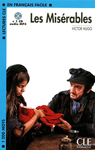 9782090318524: Les Miserables Book + MP3 CD (Level 2) (French Edition)