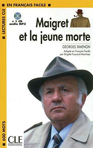 9782090318531: Maigret et la jeune morte - book + CD MP3 (Lectures clé en français facile)