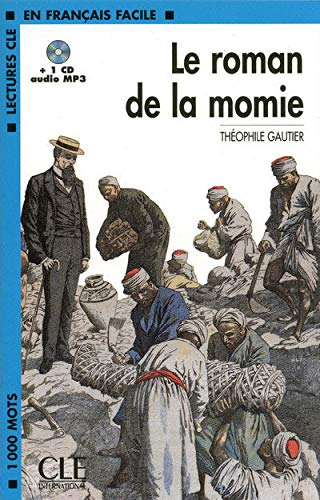 9782090318548: Le roman de la momie + CD MP3