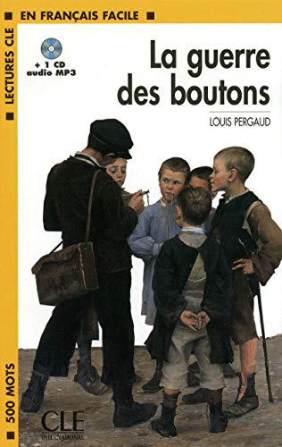 9782090318586: La Guerre Des Boutons Book + MP3 CD (Level 1) (French Edition)