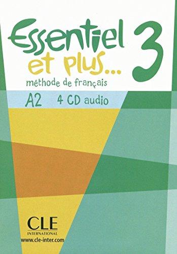 9782090321692: CD Audio Collectif Essentiel et Plus Niveau 3 (French Edition)