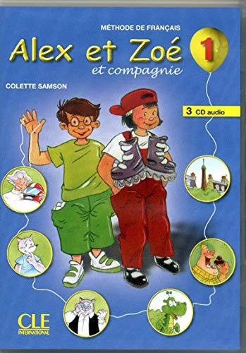9782090322477: CD Coll Alex et Zoe et Compagnie Niveau 1 3cd Audio - Methode de Français