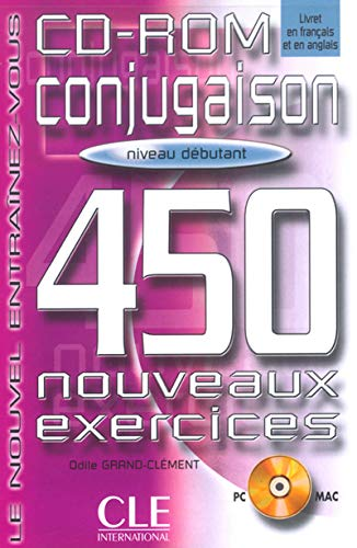 9782090322958: Conjugaison 450 Exercises CD-ROM (Beginner) (English and French Edition)