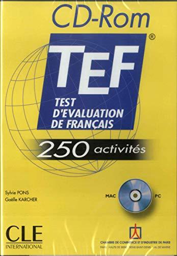9782090323146: Test d'evaluation de Francais - 250 activites: CD-Rom