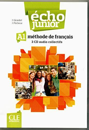 9782090323313: Echo Junior. Méthode de français. Audio CDs collectifs (2)