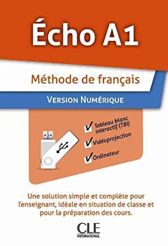 9782090323528: Echo (Nouvelle Version): Pack Numerique A1 Sur Cle Usb (French Edition)