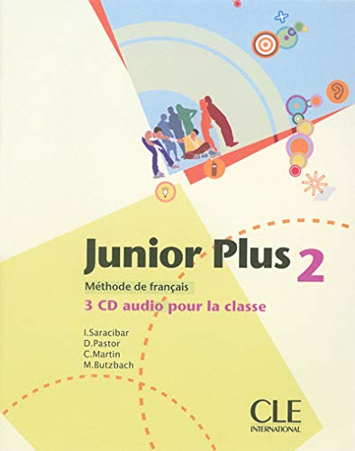 9782090324273: Junior Plus Level 2 Classroom CD (English and French Edition)
