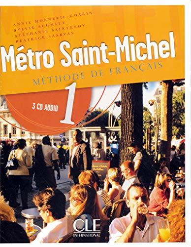 9782090325393: Metro Saint-Michel Level 1 Classroom CD (Methode de Francais) (French Edition)