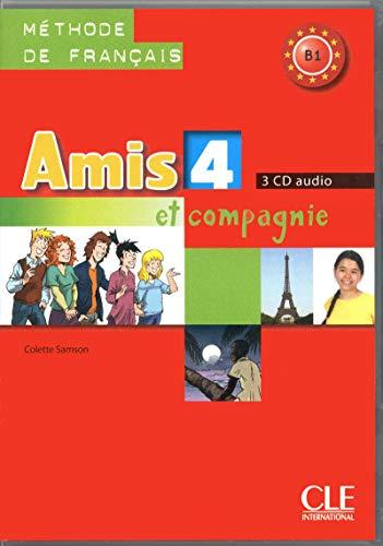 9782090325508: Amis et Compagnie: CD Audio pour la Classe 4 (3) (French Edition)