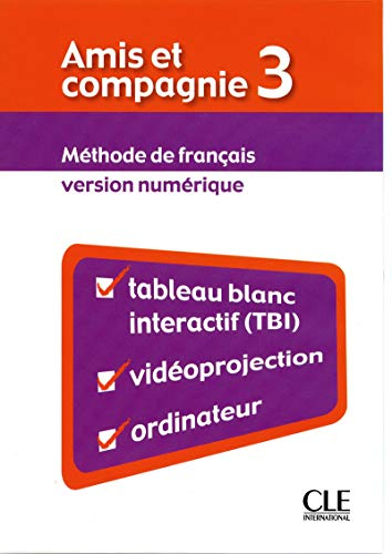 9782090325614: Amis et compagnie: Ressources numeriques pour TBI 3