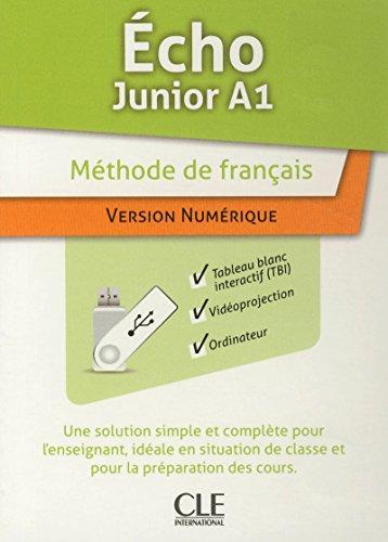 9782090326611: Echo Junior: Ressources Numeriques Pour Tbi Sur Cle Usb (French Edition)