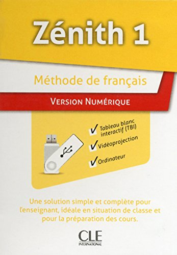 9782090327229: Ressources Numeriques pour Tbi Sur Cle Usb Methode Zenith Niveau 1 (French Edition)