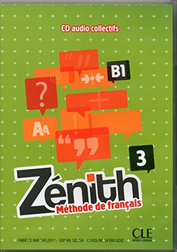 9782090327618: CD Audio Methode Zenith Niveau 3 (French Edition)