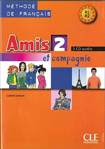 9782090327748: Amis Et Compagnie Level 2 Classroom CD Set (3) (English and French Edition)