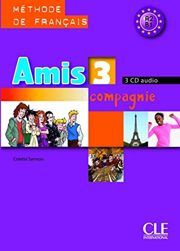 9782090327779: AMIS ET COMPAGNIE NIVEAU 3 CD AUDIO COLLECTIF