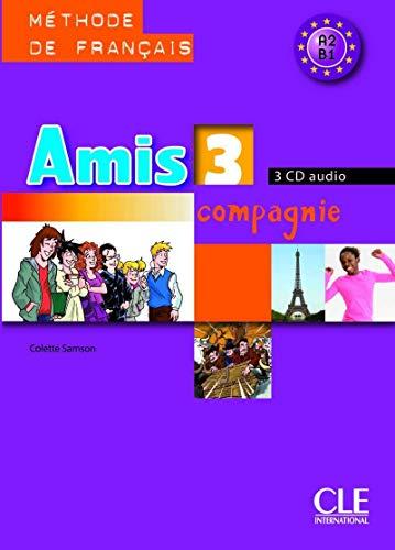 9782090327779: Amis et compagnie - Niveau 3 - CD audio collectif