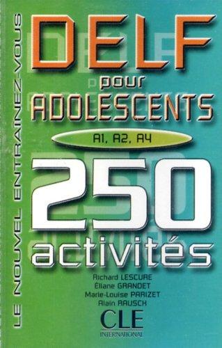9782090328325: Delf A1-A2-A3-A4 Pour Adolescents: Cassette (French Edition)