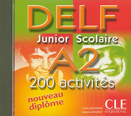 9782090328455: Delf Junior Scolaire B1 Audio CD (English and French Edition)