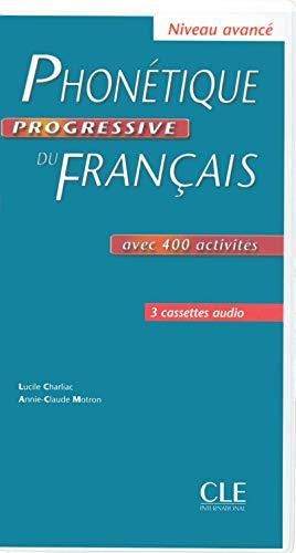 9782090328769: Phonetique Progressive Du Francais: Cassettes Audio (3) Avance (French Edition)