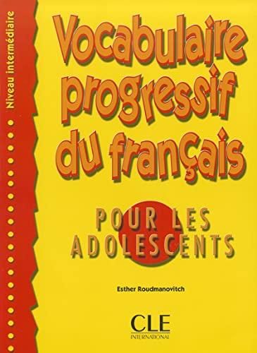 9782090331455: Vocabulaire progressif du français pour les adolescents - Niveau intermédiaire - Livre