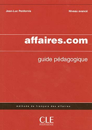 9782090331776: Affaires.com Teacher's Guide (French Edition)