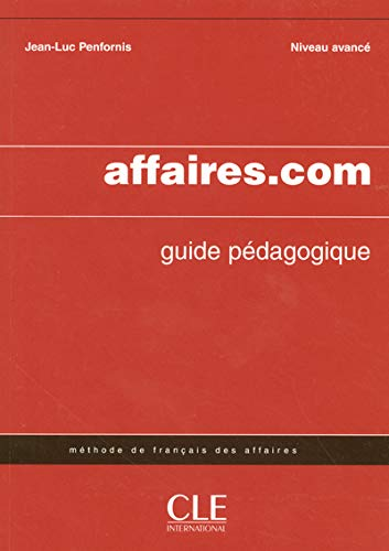 9782090331776: Affaires.com Teacher's Guide (French Edition)