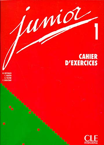 9782090333558: Junior 1. Cahier d'exercices