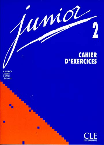 9782090333619: Junior 2. Cahier d'exercices
