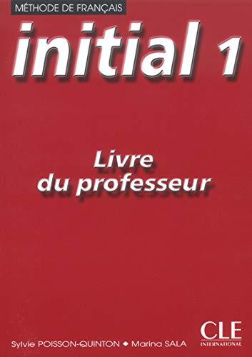 9782090334616: Initial niveau 1, version en euros : Livre du professeur