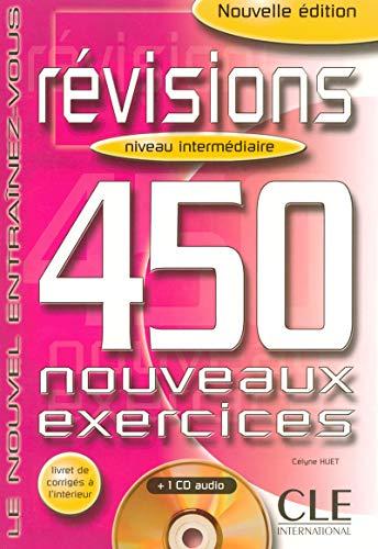 9782090336016: Révisions 450 Exercices : Niveau intermédiaire (Livre + Corrigés + CD Audio)