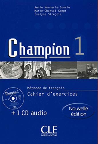 9782090336726: Champion 1 : Méthode de français : Cahier d'exercices (+ 1 CD audio)