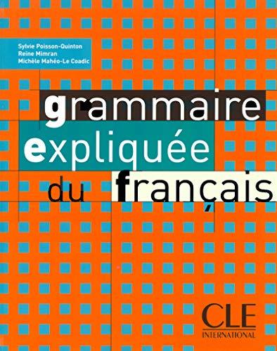 9782090337037: Grammaire Expliquee Du Francais (French Edition)
