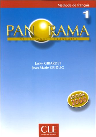 Panorama De LA Langue Francaise: Methode De: Girardet, Jacky; Cridlig,
