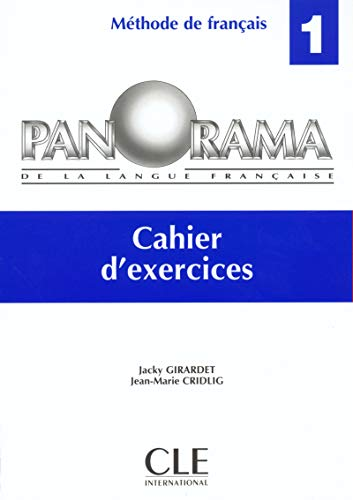 9782090337174: Panorama de la langue française, niveau 1 : cahier d'exercices