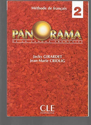 9782090337228: Panorama 2: Livre De l'Eleve 2 (French Edition)