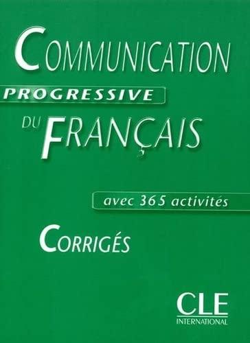 9782090337273: Communication progressive du français Niveau intermédiaire : Corrigés (Grammaire)