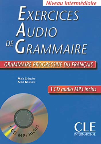 9782090337280: Exercices Audio De Grammaire: Niveau Intermediaire (French Edition)