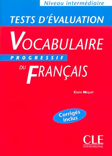 9782090337921: Vocabulaire Progressif: Tests D'Evaluation Intermediaire (Grammaire)