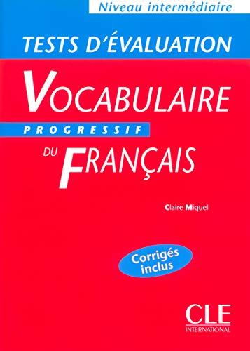 9782090337921: Vocabulaire progressif du français (Tests d'évaluation, intermédiaire)