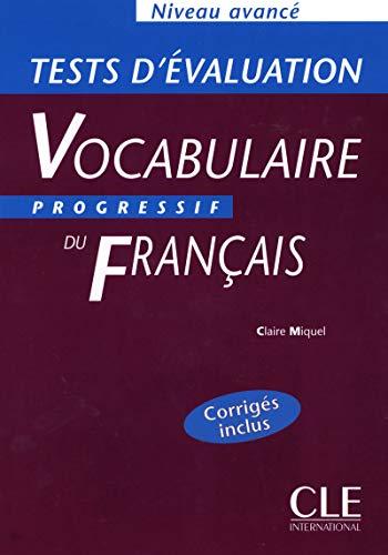 9782090338713: Vocabulaire progressif: Tests d'evaluation avance