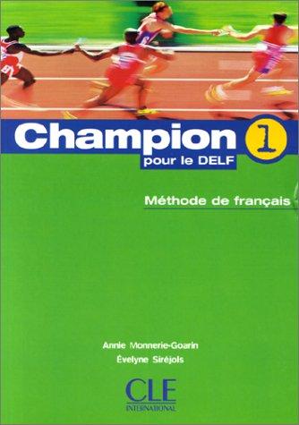 9782090339024: Champion - Level 1: Livre De L'Ele