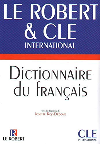 9782090339994: Dictionnaire Le Robert & Cle International (English and French Edition)