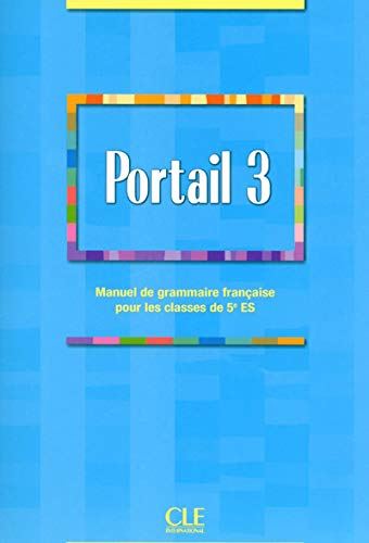 9782090352269: Grammaire du Luxembourg Niveau 3 - Portail - Manuel de Grammaire Franaise pour Classes de 5ees