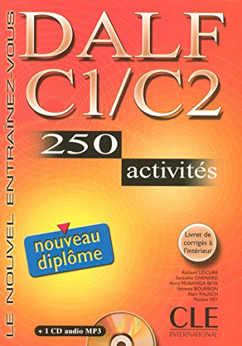 9782090352337: DALF C1/C2: 250 Activities [With Booklet and MP3] (Nouvel Entrainez-Vous) (French Edition)