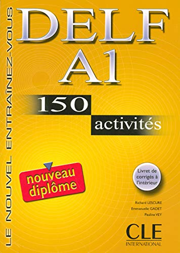 Delf A1. 150 Activities. Textbook + Key (French Edition): Normand