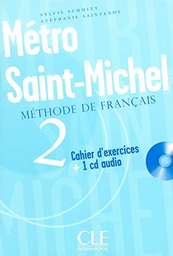 9782090352641: Metro St-michel 2 Exer + Cd (Methode de Francais) (French Edition)
