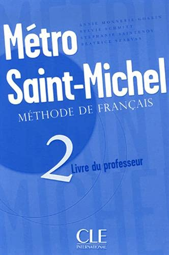9782090352658: Métro St-michel 2 Prof (French Edition)