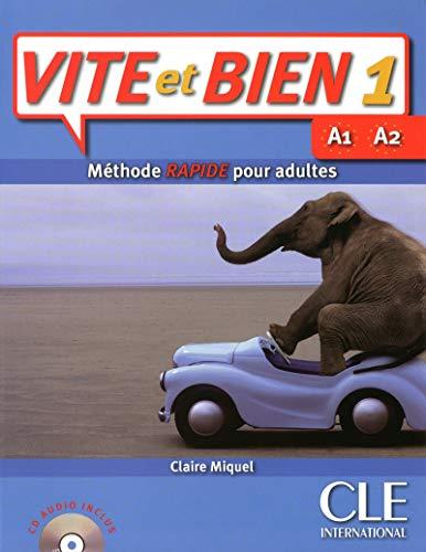 9782090352726: Vite et bien 1 : Methode rapide pour adultes livre + 1CD audio + Corriges 1 (Level A1) (French Edition)