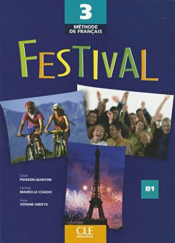 Festival Level 3 Textbook (Methode de Francais): Poisson-Quinton