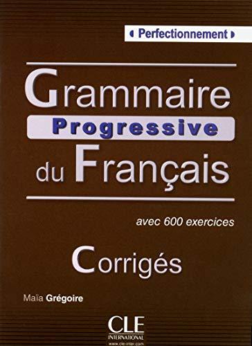 9782090353600: Grammaire Progressive du Francais: Corriges (French Edition)